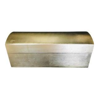 1980s Vintage Silver Decorative Box For Sale