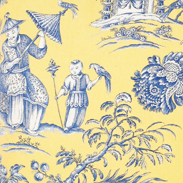 French Provincial French Toile Style Linen Pillows - A Pair For Sale - Image 3 of 8