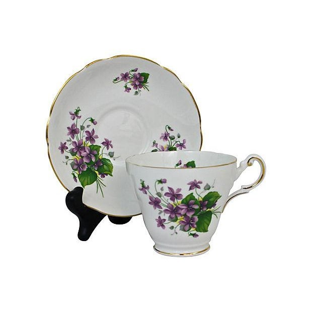 Bone China Cup & Saucer - A Pair - Image 4 of 7