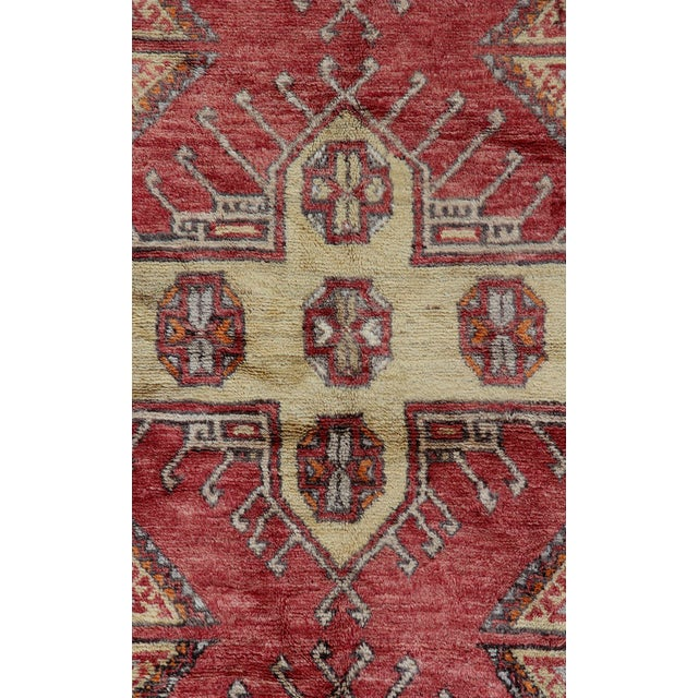 Vintage Turkish Oushak Runner - 3'10 X 9'4 - Image 2 of 3