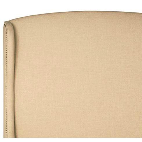 Off-White Linen Bed Frame - Image 2 of 2
