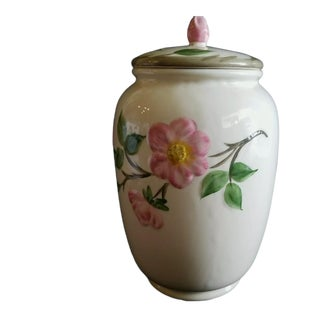 1980s Desert Rose Franciscan Cookie Jar, Made in England For Sale