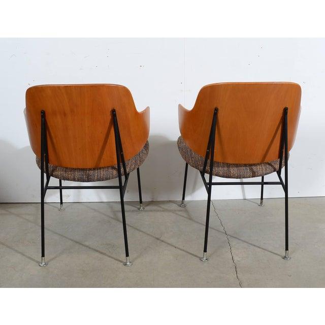 Christensen & Larsen Kofod Larsen Penguin Chairs Danish Modern Lounge Chairs - A Pair For Sale - Image 4 of 6