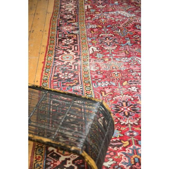 "Old New House Vintage Heriz Carpet- 7'6"" X 10' For Sale - Image 4 of 12"