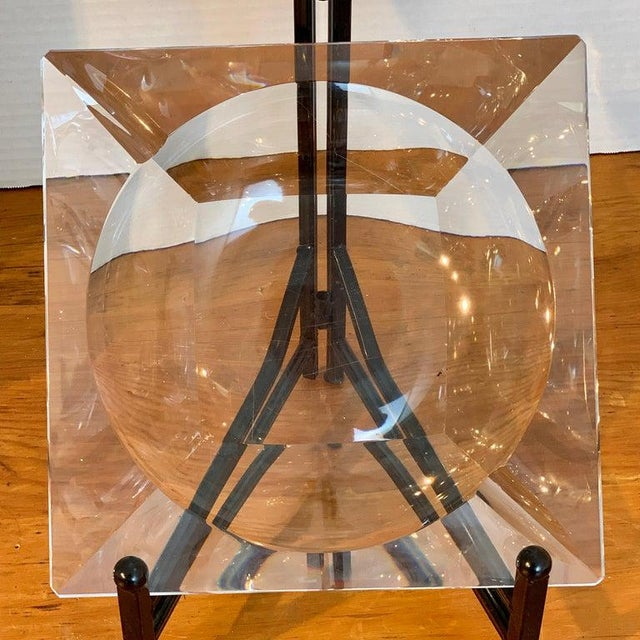 French Modern Crystal Cigar Ashtray For Sale In West Palm - Image 6 of 12