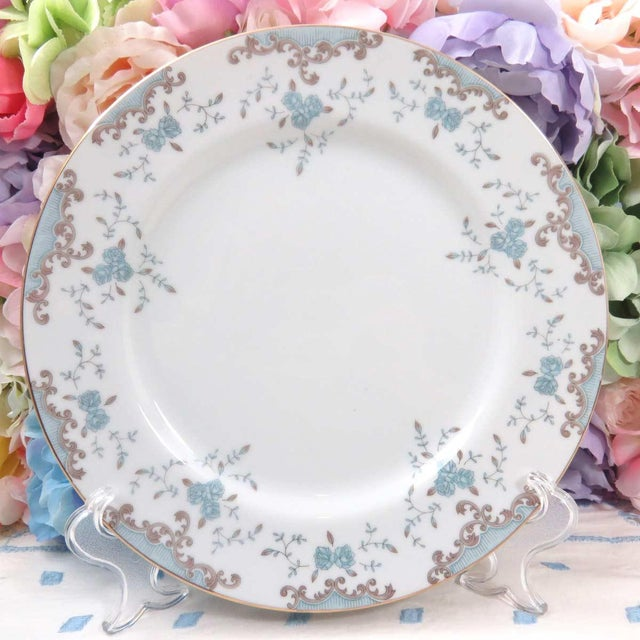 Vintage Mismatched Fine China Dinner Plates - Set of 4 - Image 3 of 8