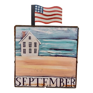 "Nancy Thomas ""September"" Plaque For Sale"