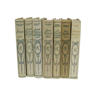 Antique French Classics - Set of 7 For Sale