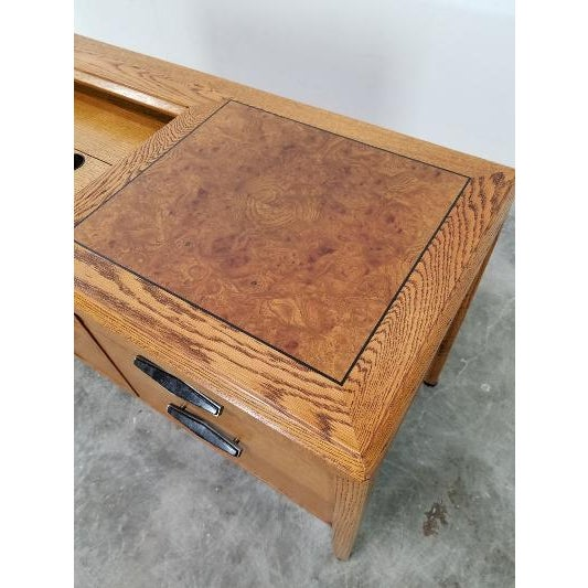 1960s Mid-Century Monteverdi Young Credenza Desk For Sale In Los Angeles - Image 6 of 13