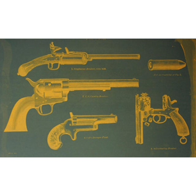Pistol Silkscreen Art - Image 2 of 2