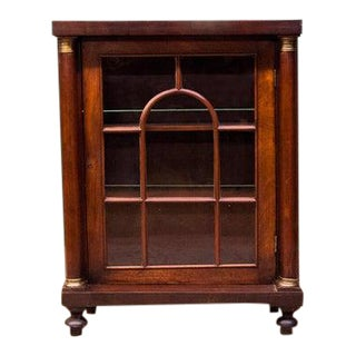 Early 19th Century English Regency Bookcase For Sale