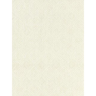 Scalamandre Antigua Weave, Alabaster Fabric For Sale