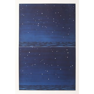 Richard Bosman, Night Sky, Aquatint Etching