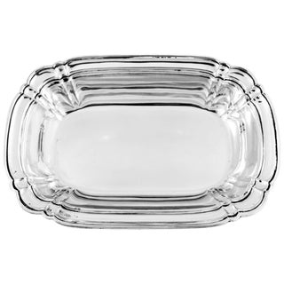 Sterling Chippendale Bowl For Sale