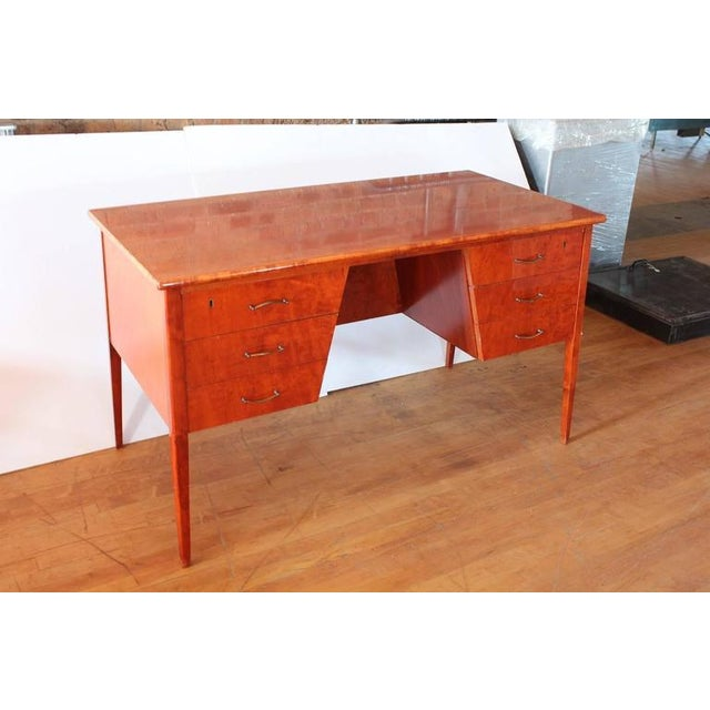 Mid-Century Modern Mid Century Modern Writing Desk For Sale - Image 3 of 3