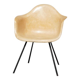 1953 Mid Century Vintage Herman Miller Dax Fiberglass Shell Chair For Sale