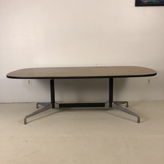 Herman Miller Aluminum Group Conference Table by Charles Eames For Sale - Image 11 of 11