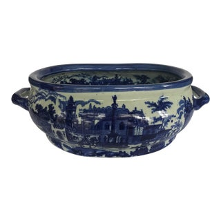 Large Vintage Victoria Ware Ironstone Tureen For Sale
