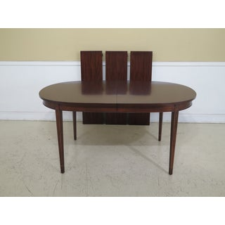 Henkel Harris Federal Style Inlaid Mahogany Dining Room Table Preview