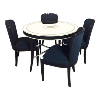 J. Robert Scott -Fabulous 4 Black Chairs For Sale