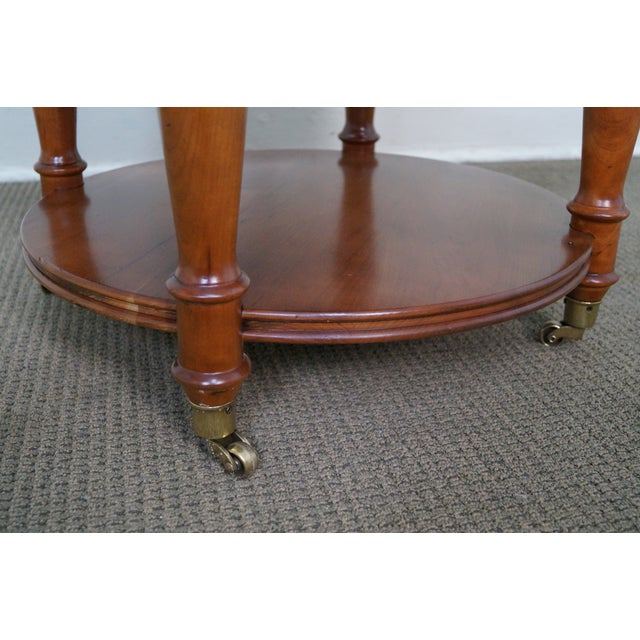 Harden Round 3-Tier Side Table For Sale - Image 5 of 10