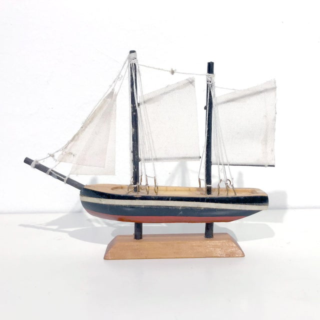 Nautical Wooden Model Sailing Ship - Image 11 of 11