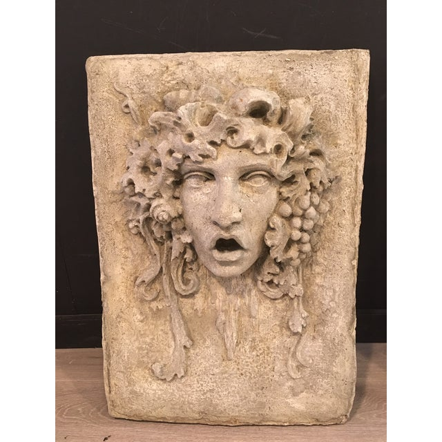 Stunning garden plaques! Hand cast and hand glazed cement plaques. Collective EXCLUSIVE! Available in custom colours.