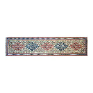 Vintage Persian Senneh Kilim Runner For Sale