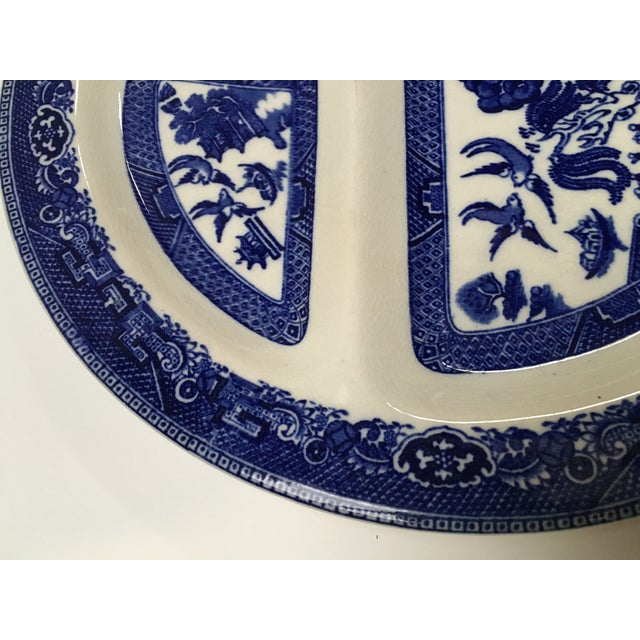 Vintage Blue Willow Romarco Plates - Set of 4 For Sale In Dallas - Image 6 of 8