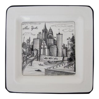 New York Porcelain Catchall For Sale