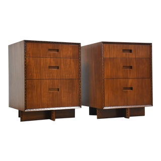Frank Lloyd Wright Taliesin Nightstands For Sale