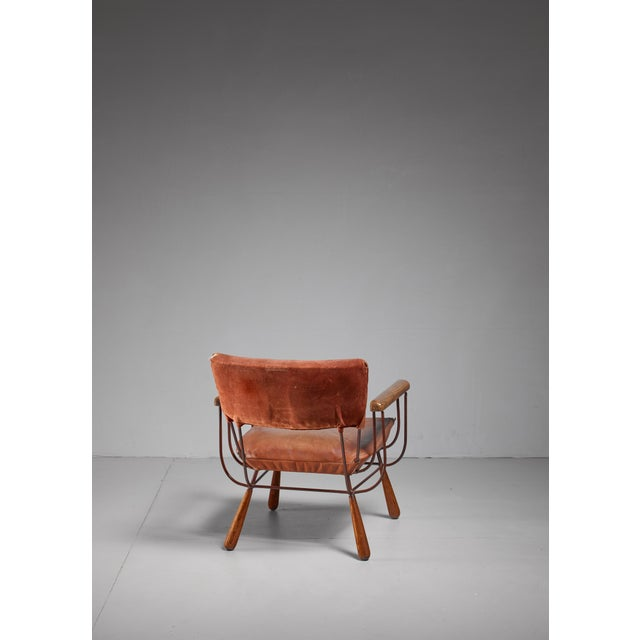 Allen Ditson Allen Ditson unique lounge chair, USA, 1960s For Sale - Image 4 of 6