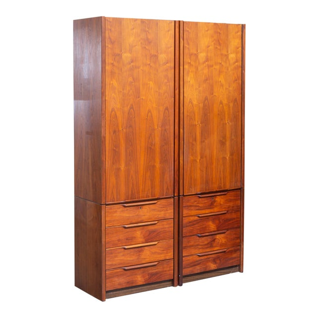 1960's Barzilay Tall Wardrobe-a Pair For Sale