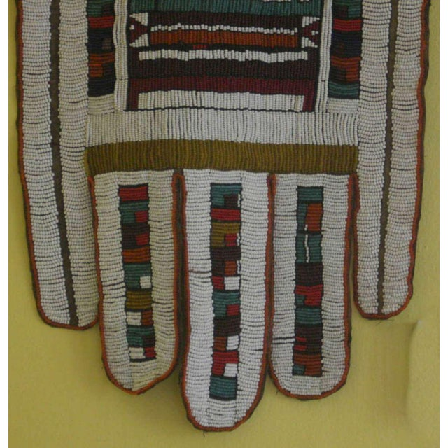 African Antique African Wedding Apron From the Ndebele Tribe For Sale - Image 3 of 9