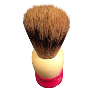 Vintage Shaving Cream Brush For Sale