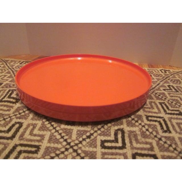 Heller Vignelli Stacking Orange Plate Bowl 30 Pcs - Image 4 of 11