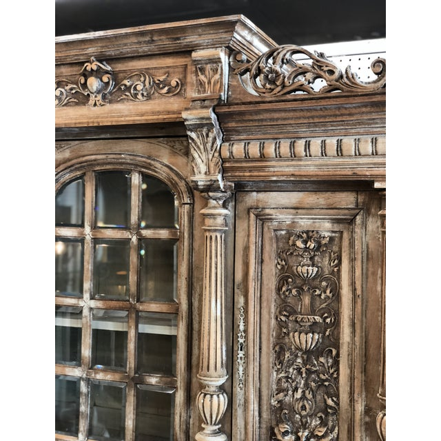 Late 19th Century 19th C. French Henri II Renaissance Revival Buffet & Hutch For Sale - Image 5 of 13
