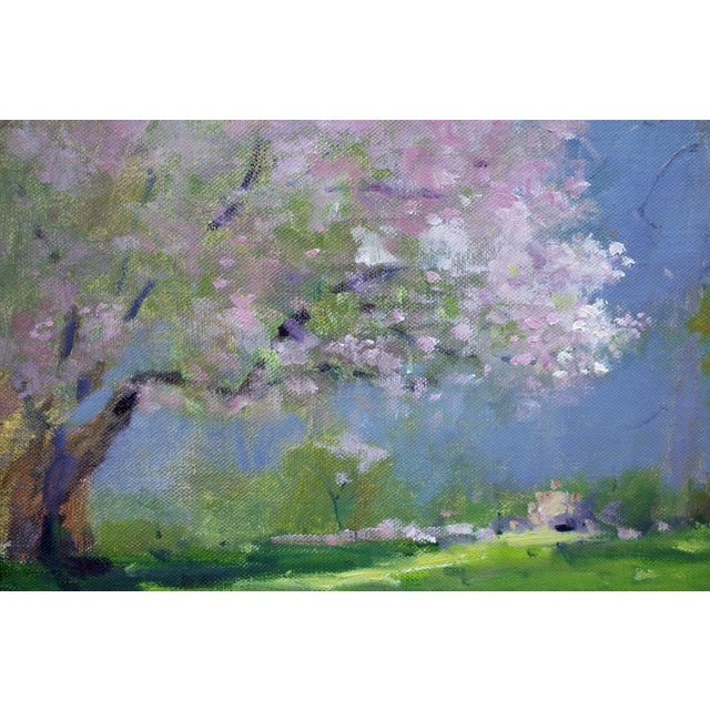 Spring Landscape Painting - Image 3 of 4