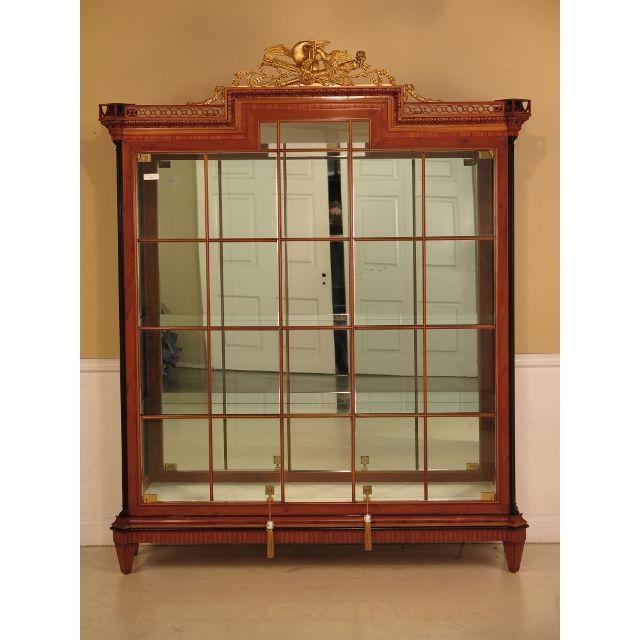 Colombo Italian Neoclassical Lighted Display Cabinet - Image 2 of 11
