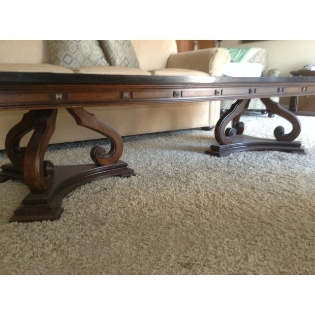Gordons Inc. Slate Coffee Table For Sale - Image 4 of 5