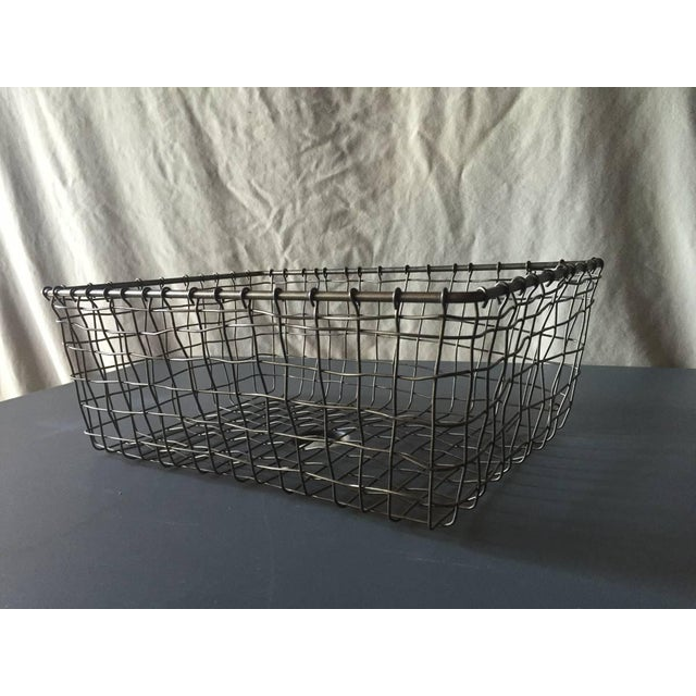 French Wire Vintage Style Market Baskets- Set of 3 - Image 10 of 11
