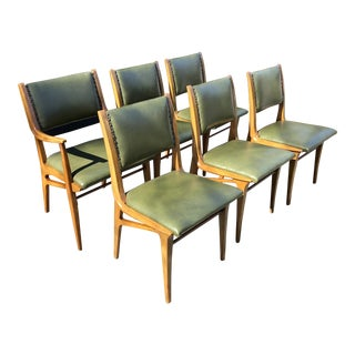 John Van Koert for Drexel Mid-Century Modern Dining Chairs - Set of 6