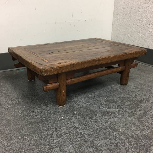 Antique Asian Low Coffee Table