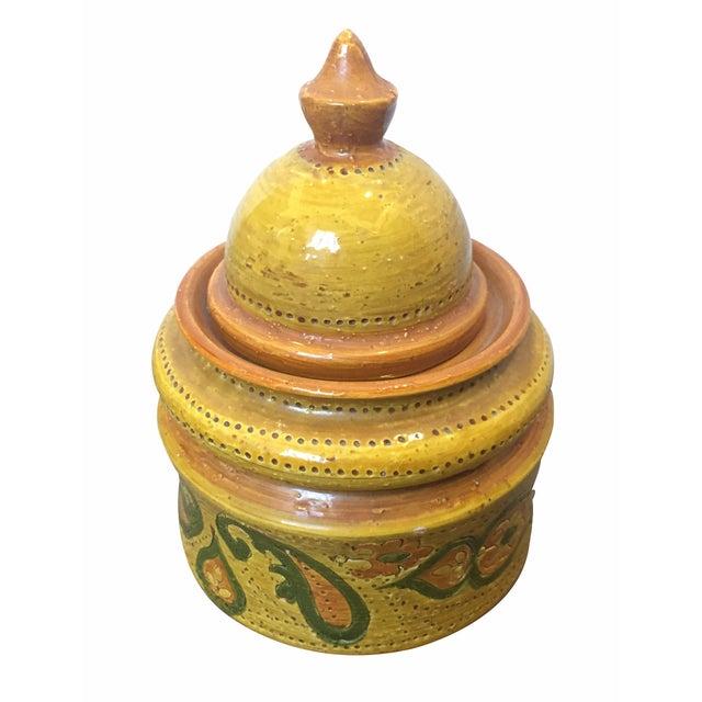 Vintage Aldo Londi for Bitossi Tobacco Jar For Sale