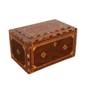 Early 20th C. American Inlaid Box For Sale