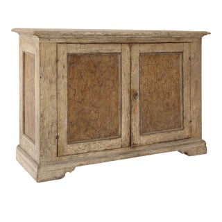 Faux Marble Italian Buffet For Sale