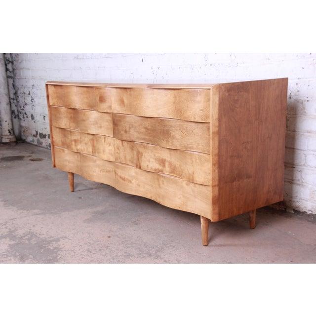 Edmond J. Spence Edmond Spence Wave Front Long Dresser For Sale - Image 4 of 11