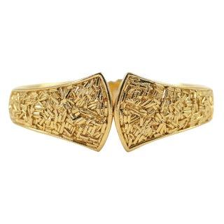 "Trifari ""Gold"" Bracelet For Sale"