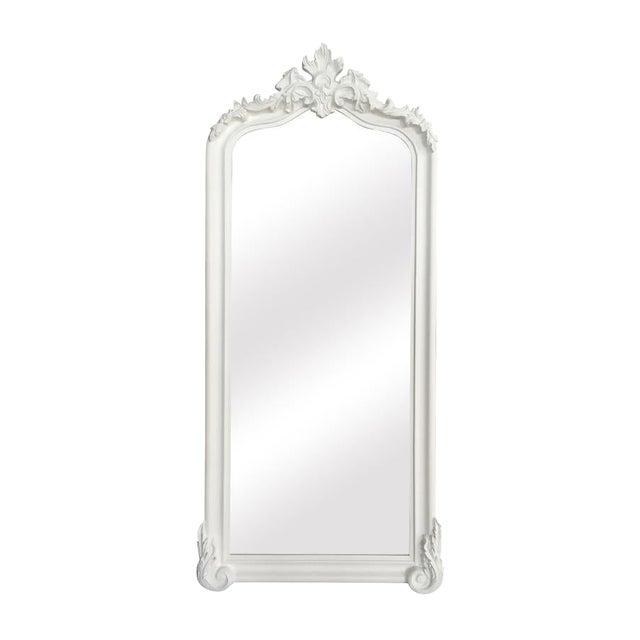 Full Length Leaner Mirror, Oversized White Leaner Mirror