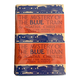 1920s The Mystery of the Blue Train Book For Sale
